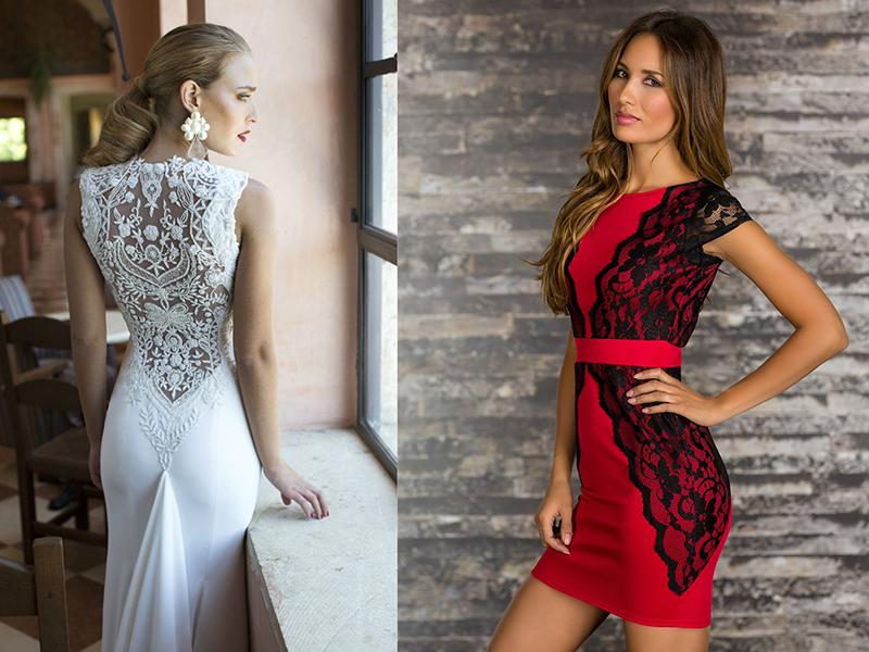 4010d27a123ddd8 Сшить платье красное. Платья с гипюровыми вставками: обычное платье ...