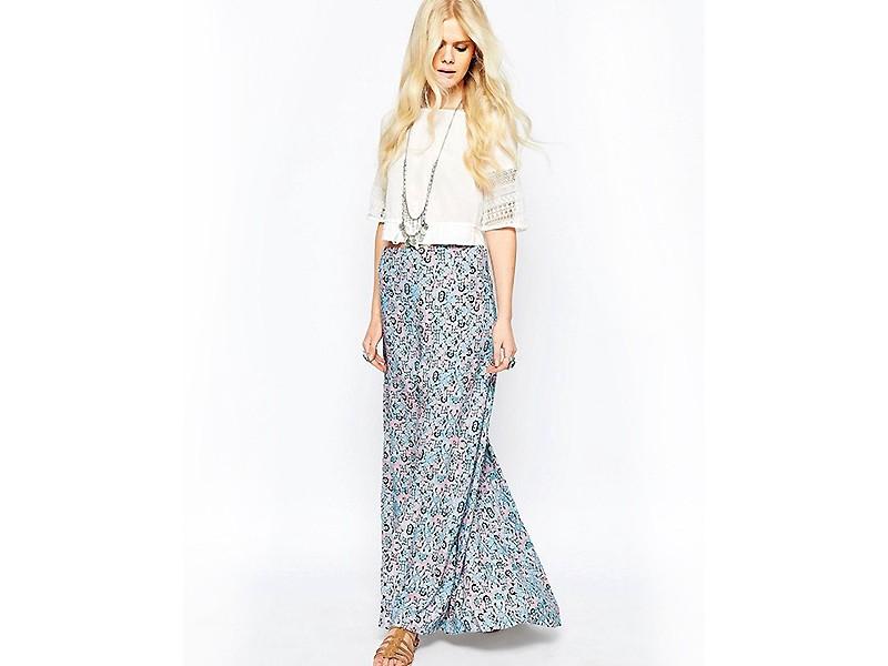 3e127ba0e82 Юбка длинная летняя. Длинная летняя юбка  с чем носить тренд ...