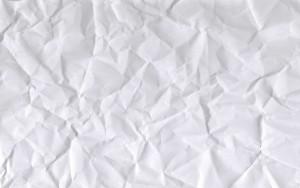 Как разгладить лист бумаги