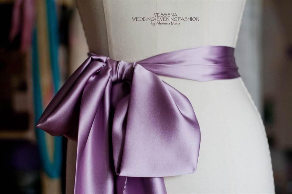 1-872 Втачной пояс на платье. Учимся красиво завязывать пояс на платье: инструкции, советы, рекомендации