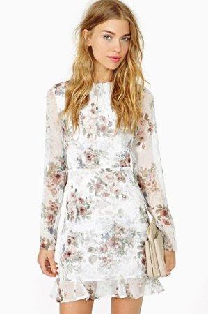 f2ddd013404 Цветок платье. Модные платья с цветочным рисунком  женственные ...