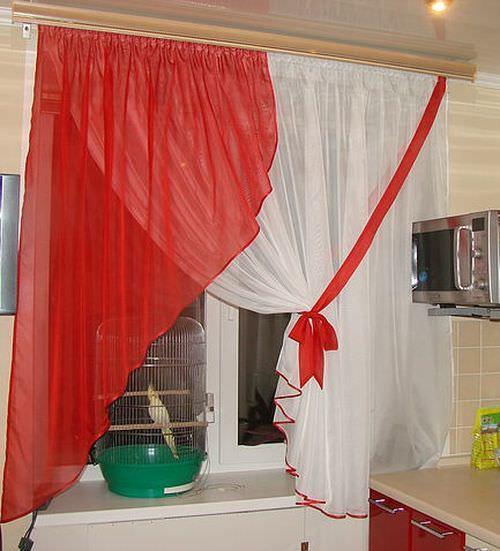 Сшить тюль на кухню своими руками фото 239