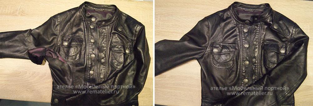 Как ушить куртку своими руками фото 953