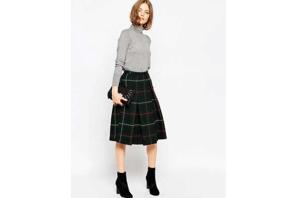 3e28f1ab203 Зимняя юбка из пальтовой ткани сшить самой. Юбка из драпа зимняя ...