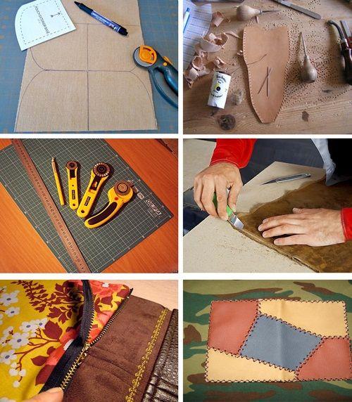 ffff9a6cc88b Как вручную шить кожу. Как обрабатывать и сшивать детали кожаных ...