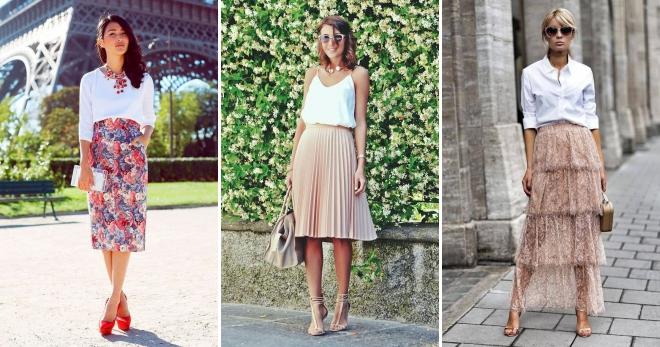 d9f7a888a34 Летние юбки 2018 года – модные тенденции и модели для любой женской фигуры