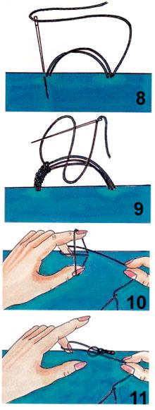 Как сделать петлю из ниток фото 946