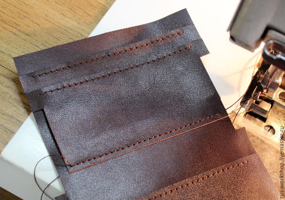 118cc67f4bb1 Выкройки кошельков из кожи модели и схемы с фото. Отличный кошелек ...