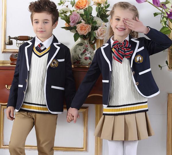 ffd8234efcb Школьная форма пиджак и юбка для девочек. Школьная форма 2018 — для ...