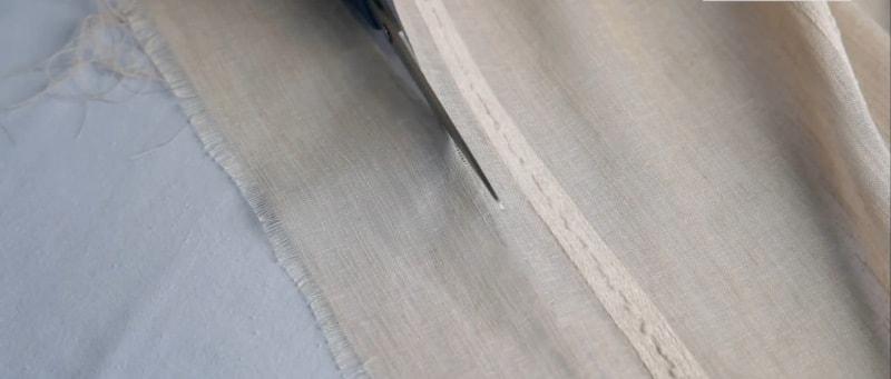 shag-3 Как подшить тюль в домашних условиях. Как правильно подшить тюль с помощью ленты своими руками