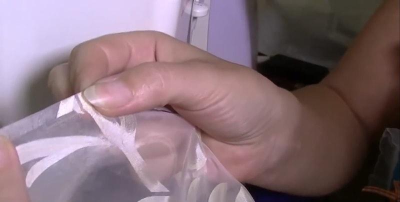 shag-4 Как подшить тюль в домашних условиях. Как правильно подшить тюль с помощью ленты своими руками