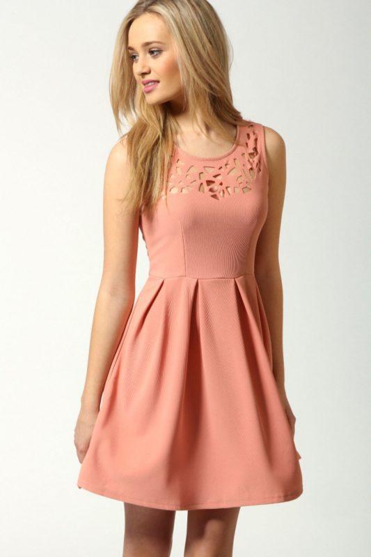 1c3a2bec5dd27ea Персиковый цвет в одежде. Персиковый цвет в одежде: как создать ...