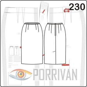 cd92dbffdcb0 Выкройка юбка карандаш 54 размера. Готовая выкройка юбки-карандаш ...