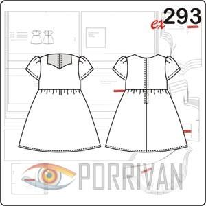66e72b76a7d0222 Выкройки платьев детских для начинающих простые. Выкройки детских ...